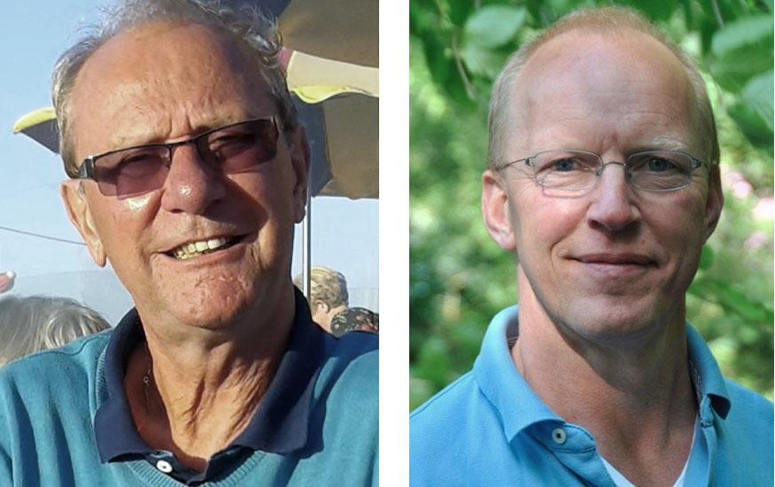 Wim Schoonderbeek en Albert Bloem